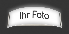 Wandleuchte Longlight - Ihr Foto