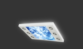 Ceiling light concept 1+