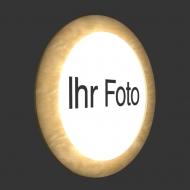 Leuchtbild Rondo Ihr Foto