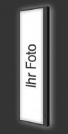 Design Leuchtbild vertikal Ihr Foto