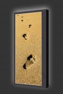 Design Leuchtbild S vertikal